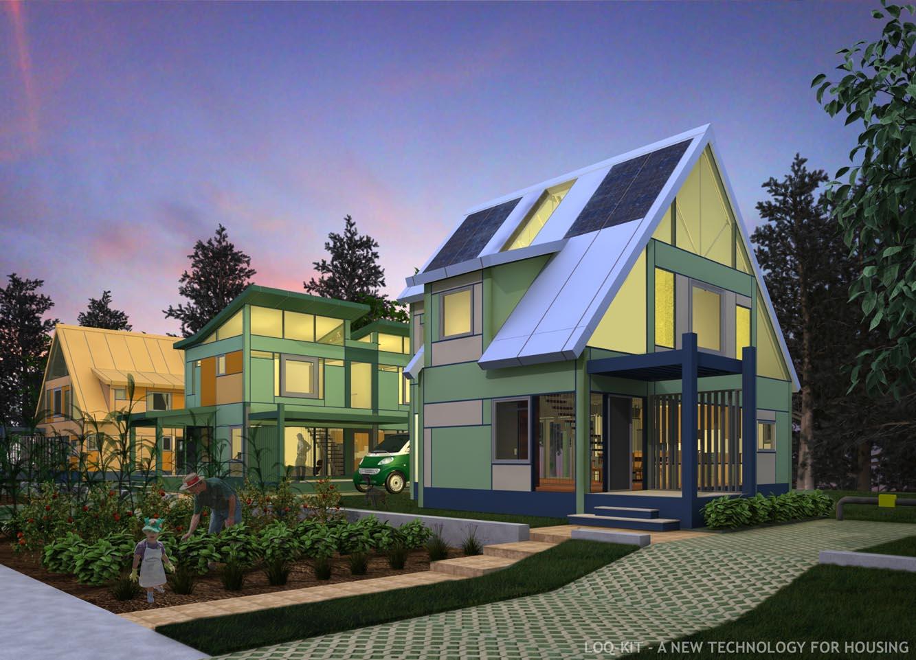 Loq Kit Modular Interchangeable Adaptable Reusable House Parts